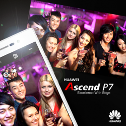 Huawei | The Ascend P7 mobile phone at $699