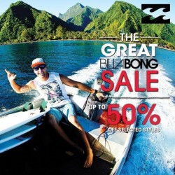 Billabong | GSS 50% off promotion