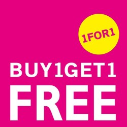 NET Singapore | 1 for 1 promotion on $13.9 & 19.9 apparels