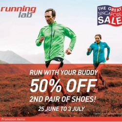 Running Lab | 50% off 2nd pair of shoes