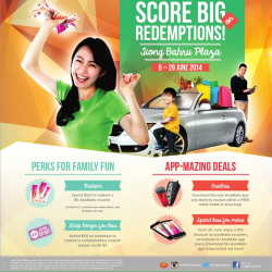 "Asia Malls | ""Score Big On Redemptions"" at Tiong Bahru Plaza"