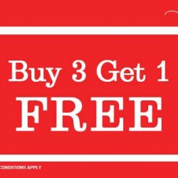 New Look | Buy 3 get 1 free promotion at Jay Gee