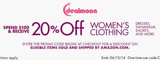 Amazon | 20% OFF Women's Clothing Promo Code