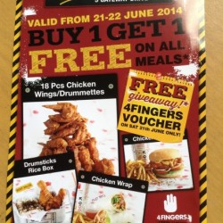4Fingers | West Gate New Outlet Opening Promotion
