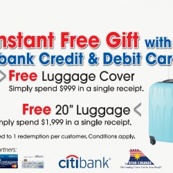 Harvey Norman | Instant free gift with Citibank cards