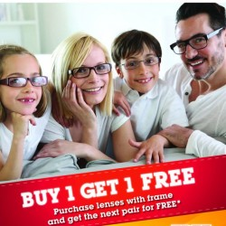 Nanyang Optical | 1 for 1 frame and lenses promotion