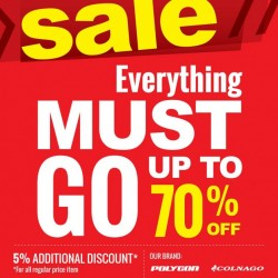 Rodalink | move-out store clearance sale at Thomson Plaza