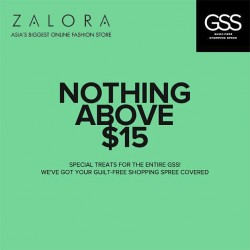 ZALORA | GSS NOTHING ABOVE $15 promotion