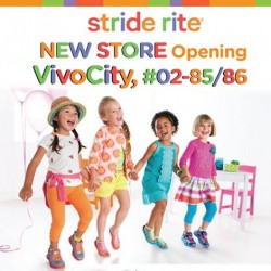Stride Rite | Opening special at VivoCity