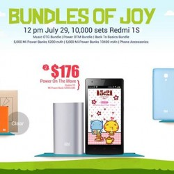 Xiaomi |  Redmi 1S for sale with various bundles