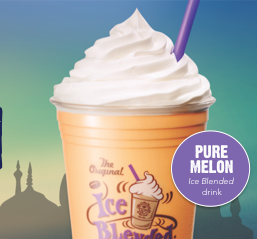 The Coffee Bean & Tea Leaf | Melon mint ice blended special