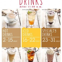 Swiss Bake | 1 for 1 drinks after 11AM