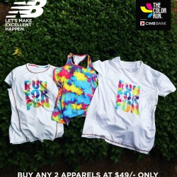New Balance | The Color Run Promotion