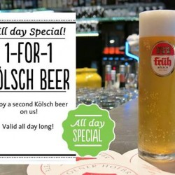 Marché Restaurants | 1-for-1 Kölsch beer