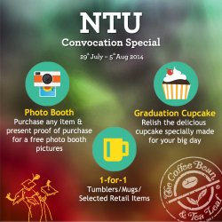 The Coffee Bean & Tea Leaf | NTU convocation special