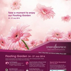 One Raffles Place | Floating Garden Show