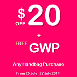 LeSportsac | $20 OFF plus a mystery GWP