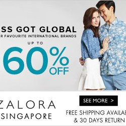 Zalora | Up to 70% off global brand sale