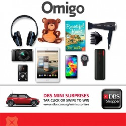 DBS | 15% off storewide + $20 off at Omigo