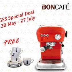 BonCafe | Ascaso Dream coffee machine promotion