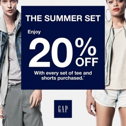 GAP Singapore | The Summer Set Promotion