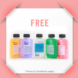 Luxola | FREE travel size gift from more on Not Soap, Radio