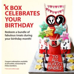 K Box Karaoke | birthday vouchers redeemption