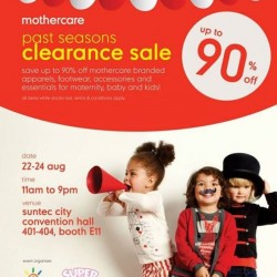 Mothercare | up to 90% off Past Seasons Sale