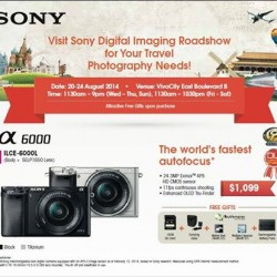 BestDenki | Sony Digital Imaging Roadshow @VivoCity