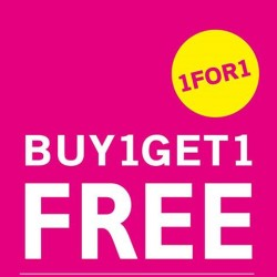 NET | Buy 1 get 1 selected items