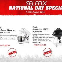 The Star Vista | Selffix's National Day Specials