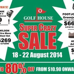 Golf House | Warehouse Sale @ Wisma Gulab