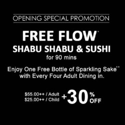 Kingyo | free flow of shabu shabu & Sushi