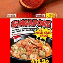 Pepper Lunch | Zestier Spicier edition seafood pepper rice