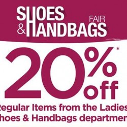BHG | 20% off Shoes and handbags fair