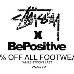 Limited Edt | Stussy x Be Positive 50% Off Sale