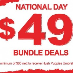 Hush Puppies | National Day special $49.00 bundle deals