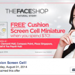 THEFACESHOP |  FREE Cushion Screen Cell Miniature
