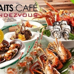 Groupon.sg | International Buffet at Straits Cafe in Rendezvous Hotel