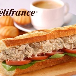 Groupon.sg | Délifrance All Time Favourite Classic Sandwich, Beverage & Madeleines Set at 25 Locations