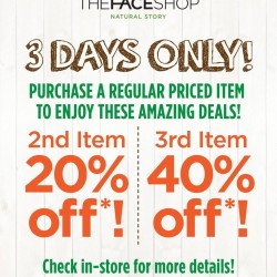 THE FACESHOP | Weekend Promotion Aug 2014
