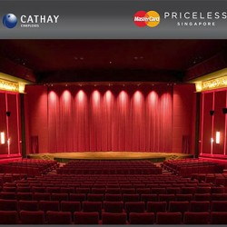 MasterCard | $8 weekdays movie tickets at Cathay