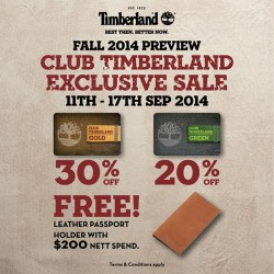 Timberland | Members Preview sale up to 30% off