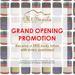 Mt. Sapola | Free Gift With Every Purchase