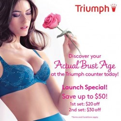 Triumph | save up to $50 new collection