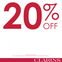 SaSa | 20% off CLARINS products