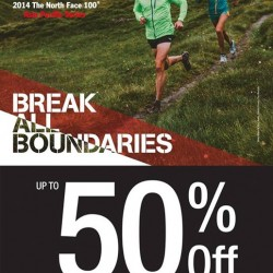 The North Face | 100 Race Expo 50% OFF sale