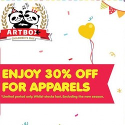 Artbox | 30% off all apparels