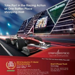 One Raffles Place | 1-Altitude's Race Around the World party