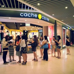 CACHE CACHE | MOVING OUT SALE @ MARINA SQUARE
